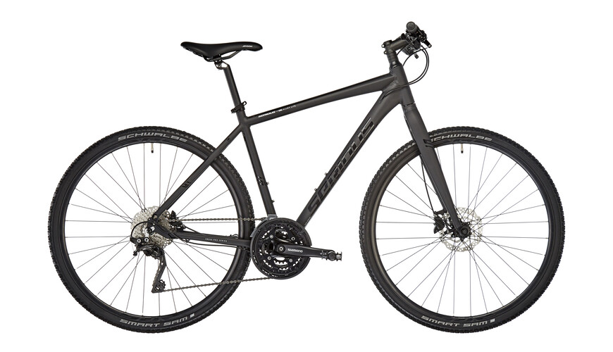 Serious Tenaya Hybridcykel Herr Hybrid svart
